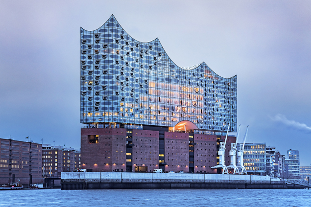 La Philharmonie de l'Elbe à Hambourg - - A/R Magazine voyageur 2017