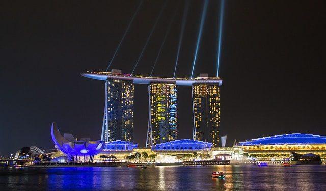 Lumières du Marina Bay Sands - - A/R Magazine voyageur 2017