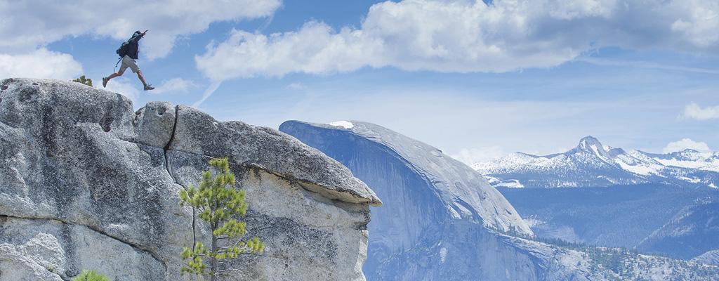 Sur les hauts de la Upper Yosemite Fall - A/R Magazine voyageur 2017