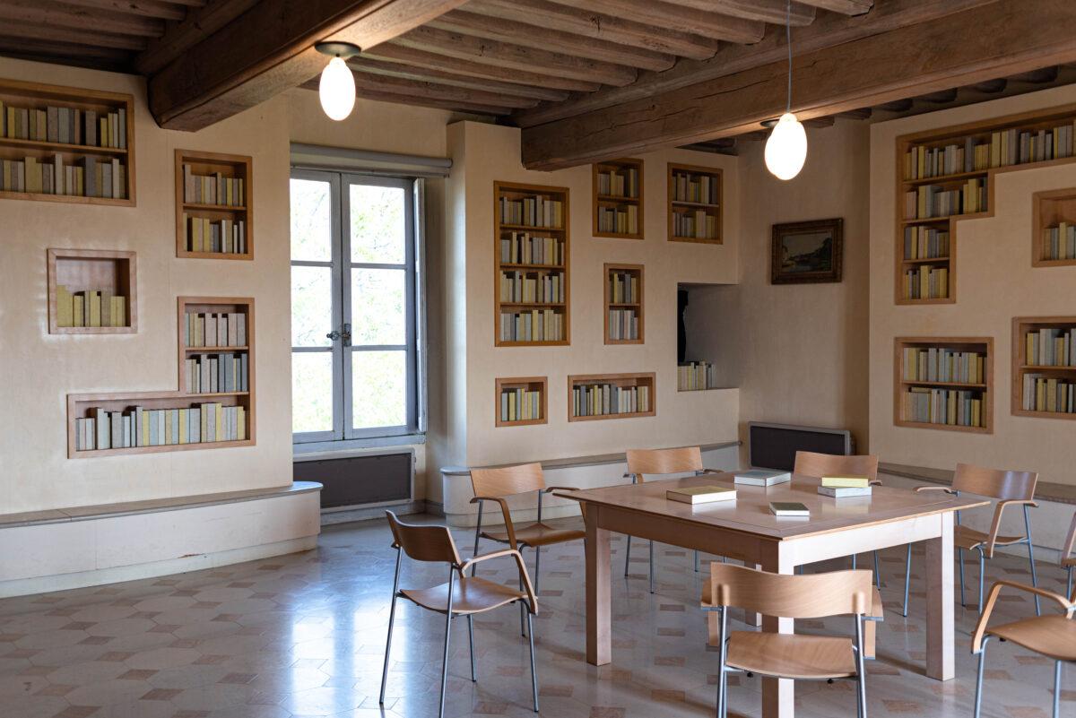 Bibliothèque du second étage